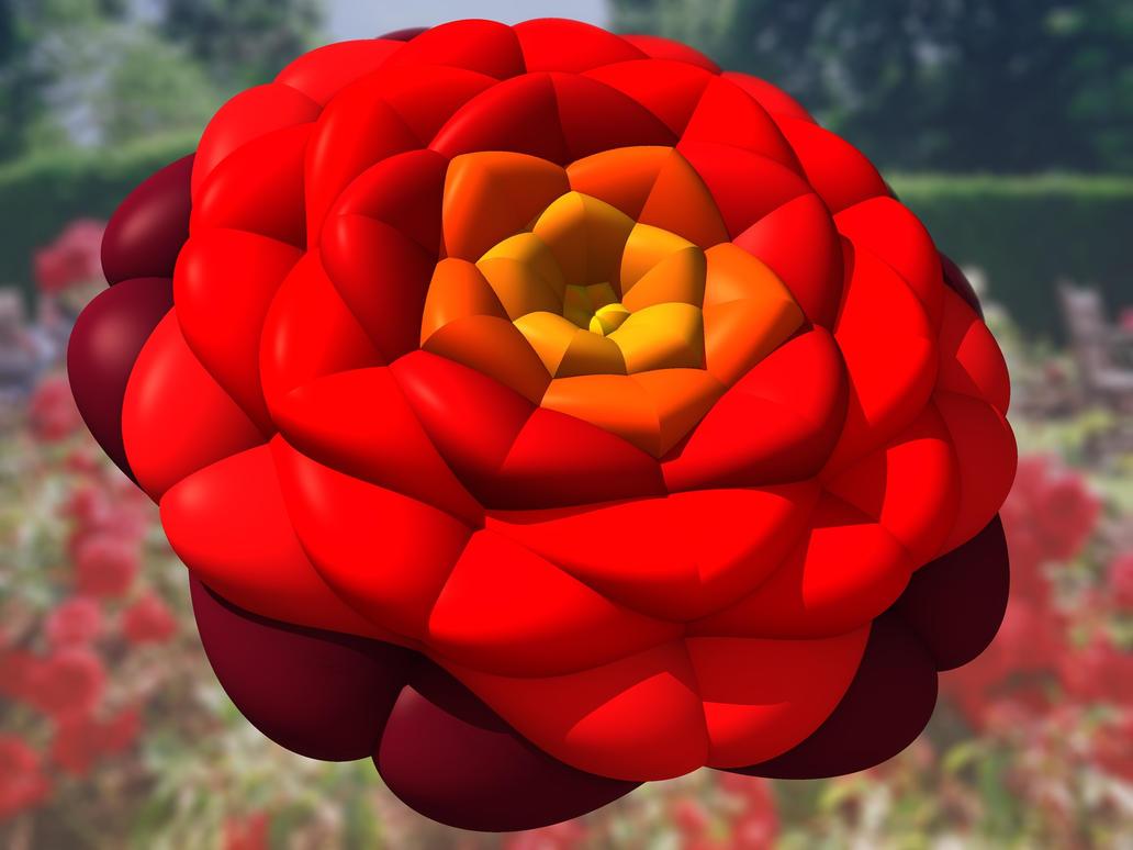 Red Rose by ellarien