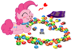 Pinkie Pie's chocolate candies