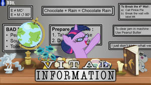 Vital Information with Twilight Sparkle