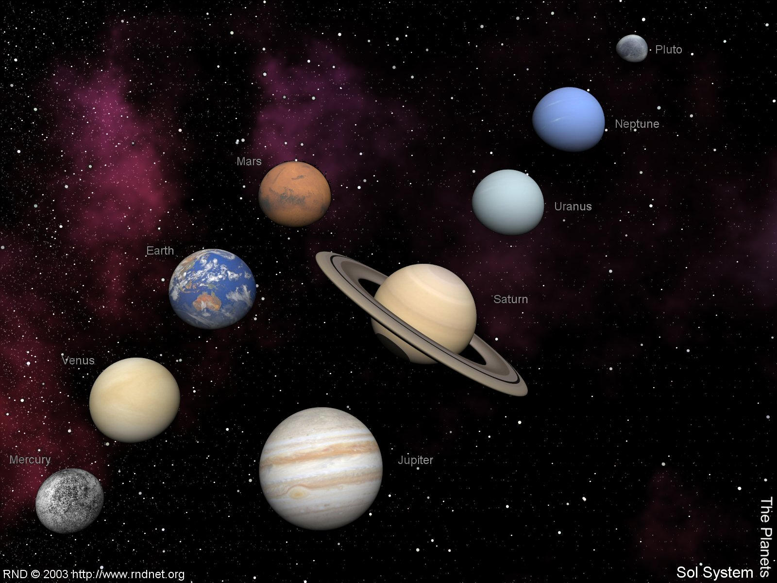 Solar System The Planets by swarfega on DeviantArt