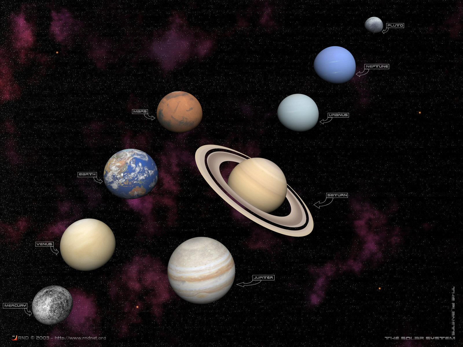 The Planets Poster by swarfega