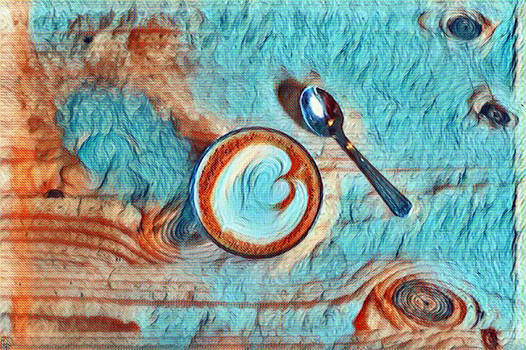 Van Gogh Coffee 1