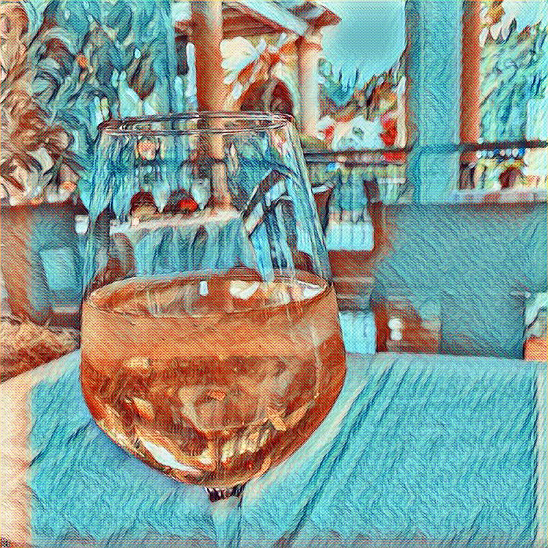 Van Gogh Wine 1 by WoodlandYoloArt