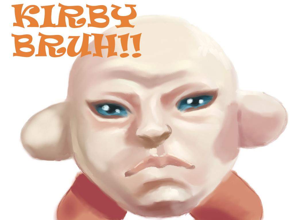Kirby by cardboardmemory