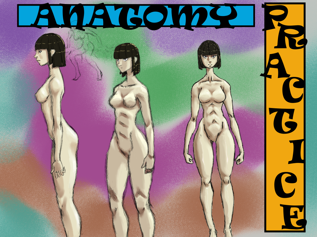 Anatomy practice h by cardboardmemory