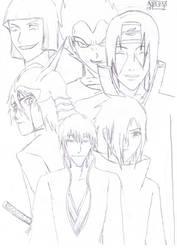 My Favourite Manga Characters by ElMangafilo