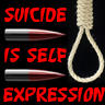 Suicide is self expression by mihai26589