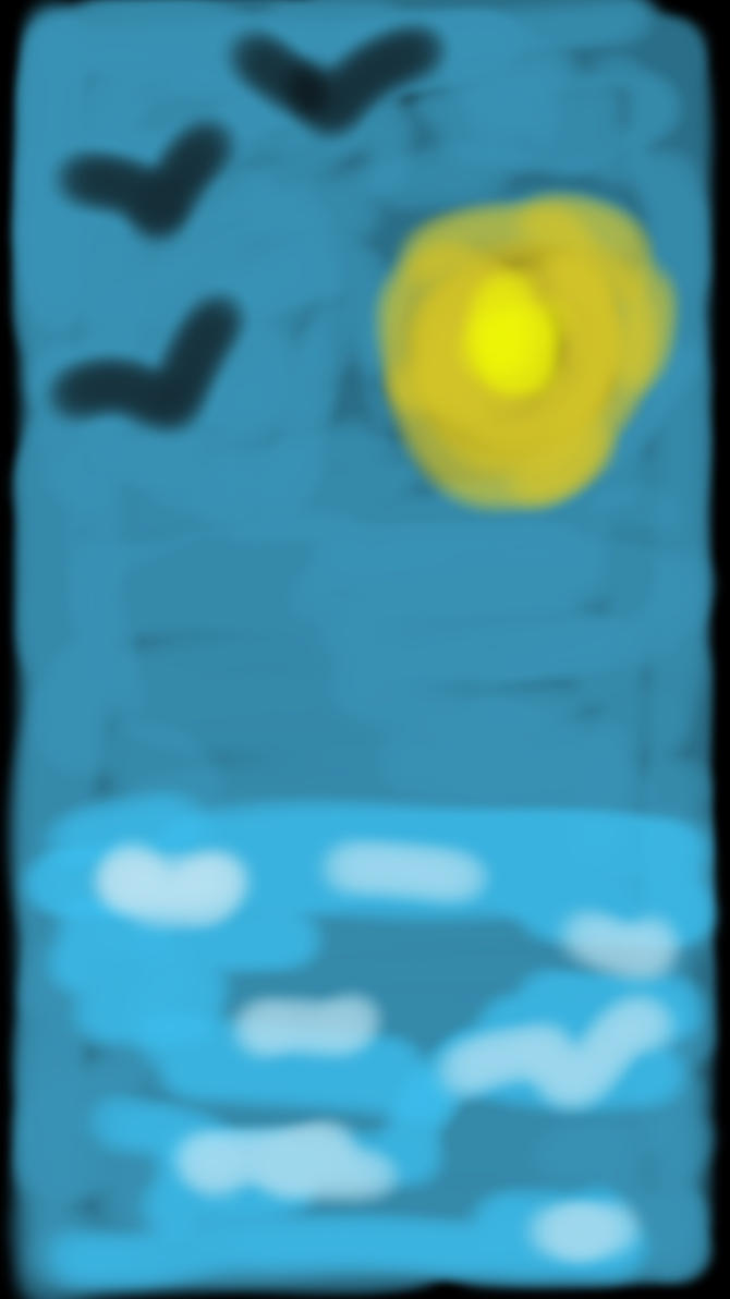 Watercolor Doodle by DexTrenchcoat