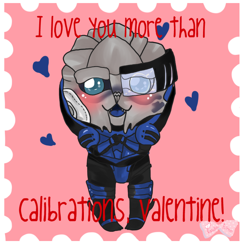 Pocket Garrus Valentine 1 by Tsukahime