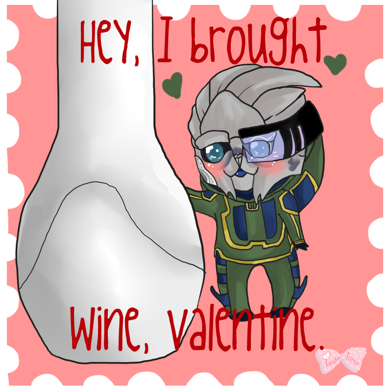 Pocket Garrus Valentine 2 by Tsukahime