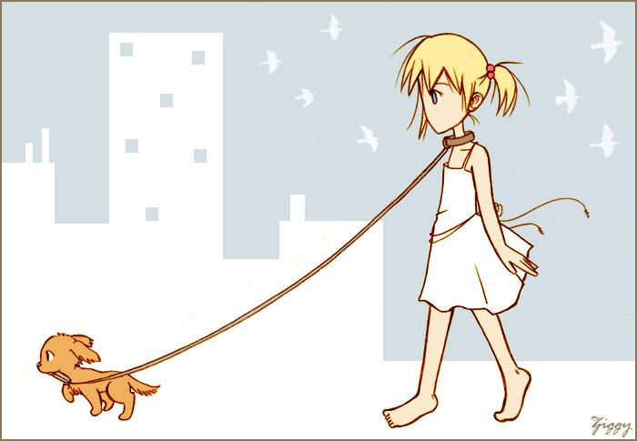 Take a walk by ZiGGYxCORE