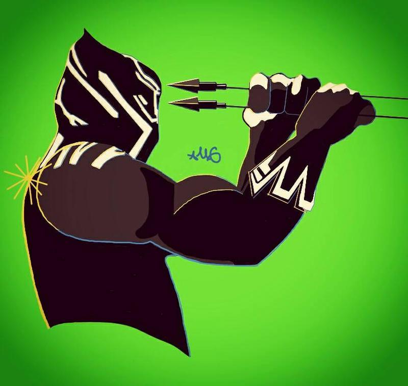 Black Panther by FreshPrints215