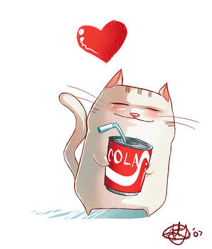 Coke Kitty