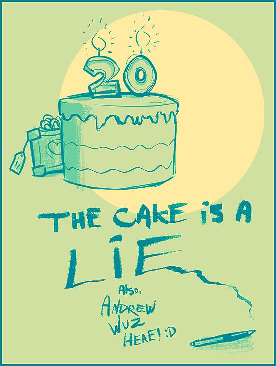 Portal Birthday Cake Song