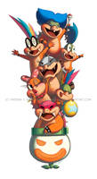 The Koopalings Return by DrewGreen