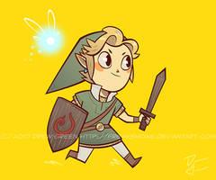 Hyrule's Hero by DrewGreen