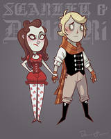 CMSN - Scarlet and Dimitri by DrewGreen