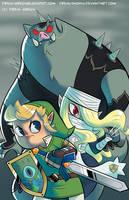 Zelda 25th Anniversary by DrewGreen