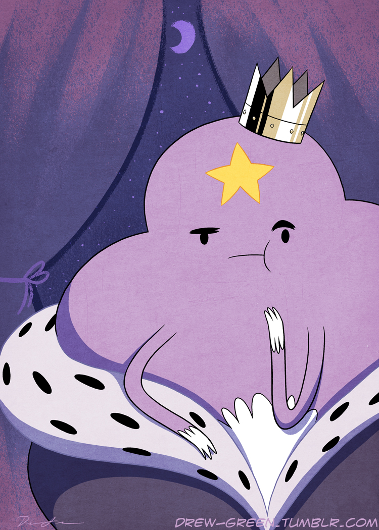 Lumpy Space Princess by DrewGreen
