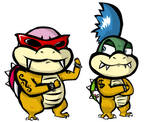 Larry and Roy Koopa