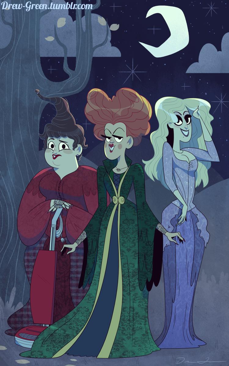 The Sanderson Sisters