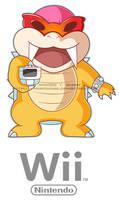 Roy Koopa and Wiimote