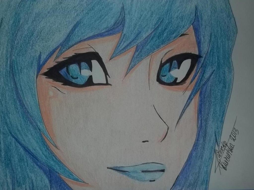 I love blue by ShiruvuiaKoneko