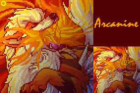 Arcanine Portrait by fudge