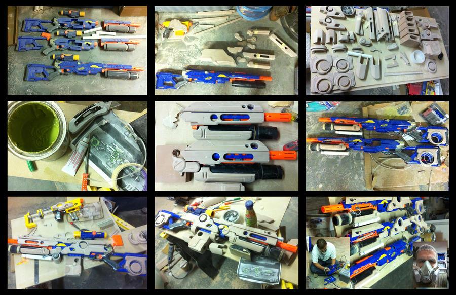 Rifle movie prop build up by adamski1616