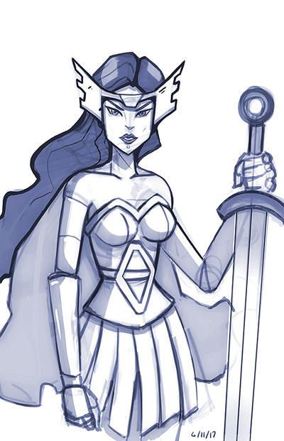 Lady Sif by mattsnyman