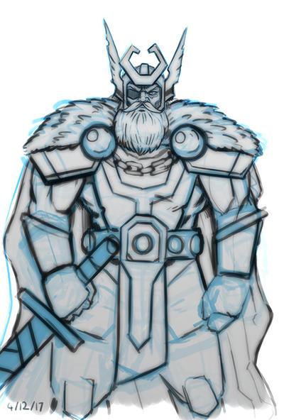 Odin by mattsnyman