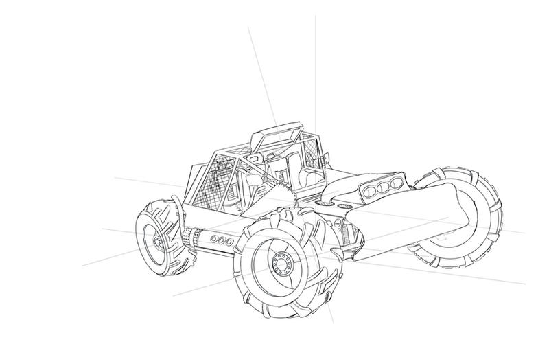Buggy Concept by N-Deed