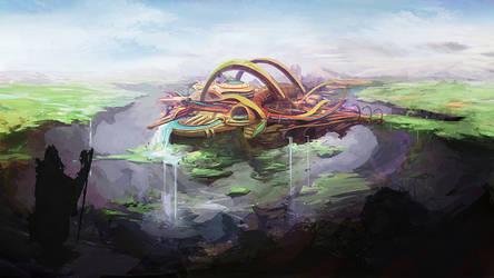 The Floating City by N-Deed