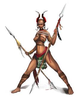 Amazon Warrior | Detail