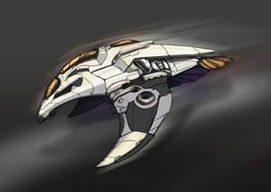 Commission | ME Fanfic Ship Design
