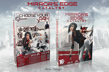 Mirror's Edge Catalyst cover art by Amia2172