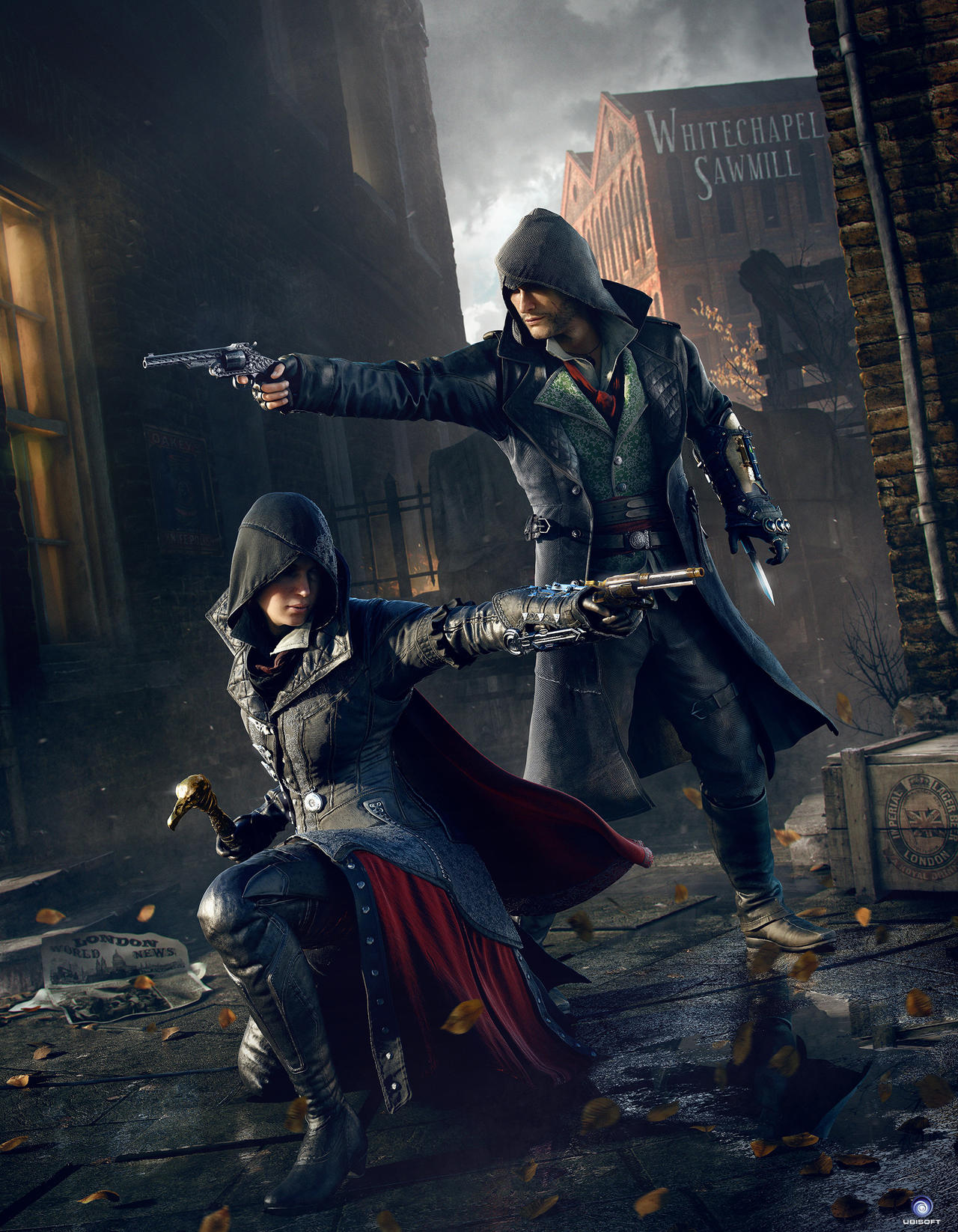 Assassin 39 s creed syndicate wallpaper by amia2172 on deviantart - Evie wallpaper ...