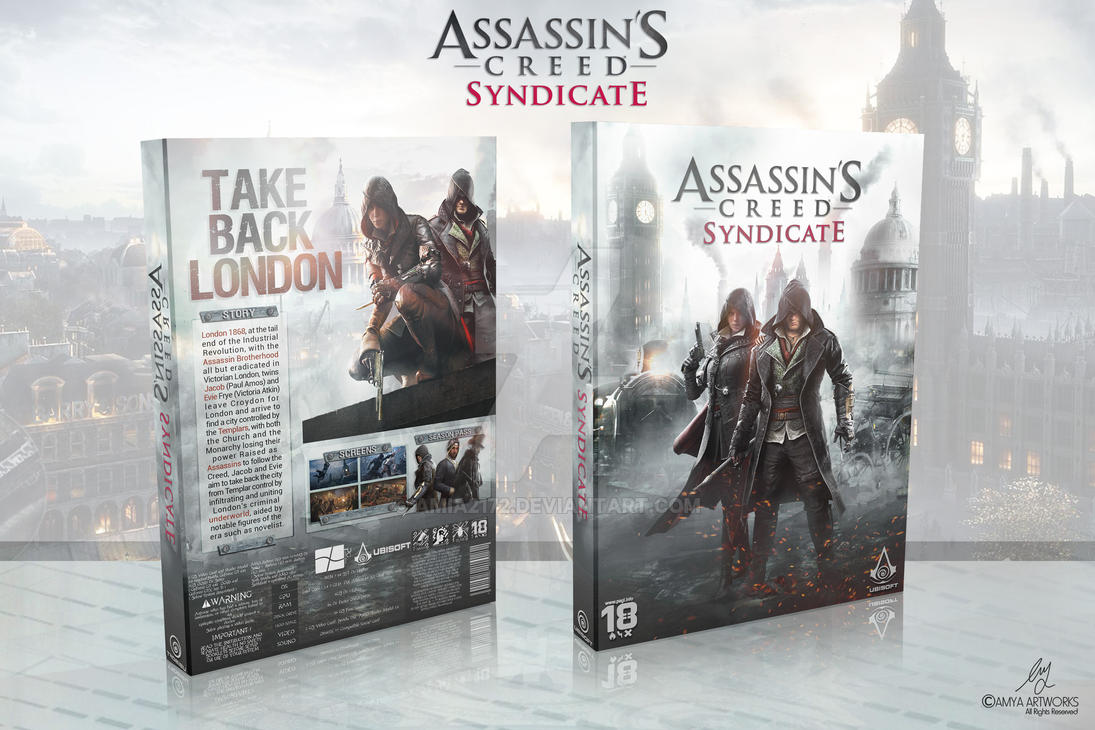 Assassin's Creed Syndicate BoxArt by Amia2172