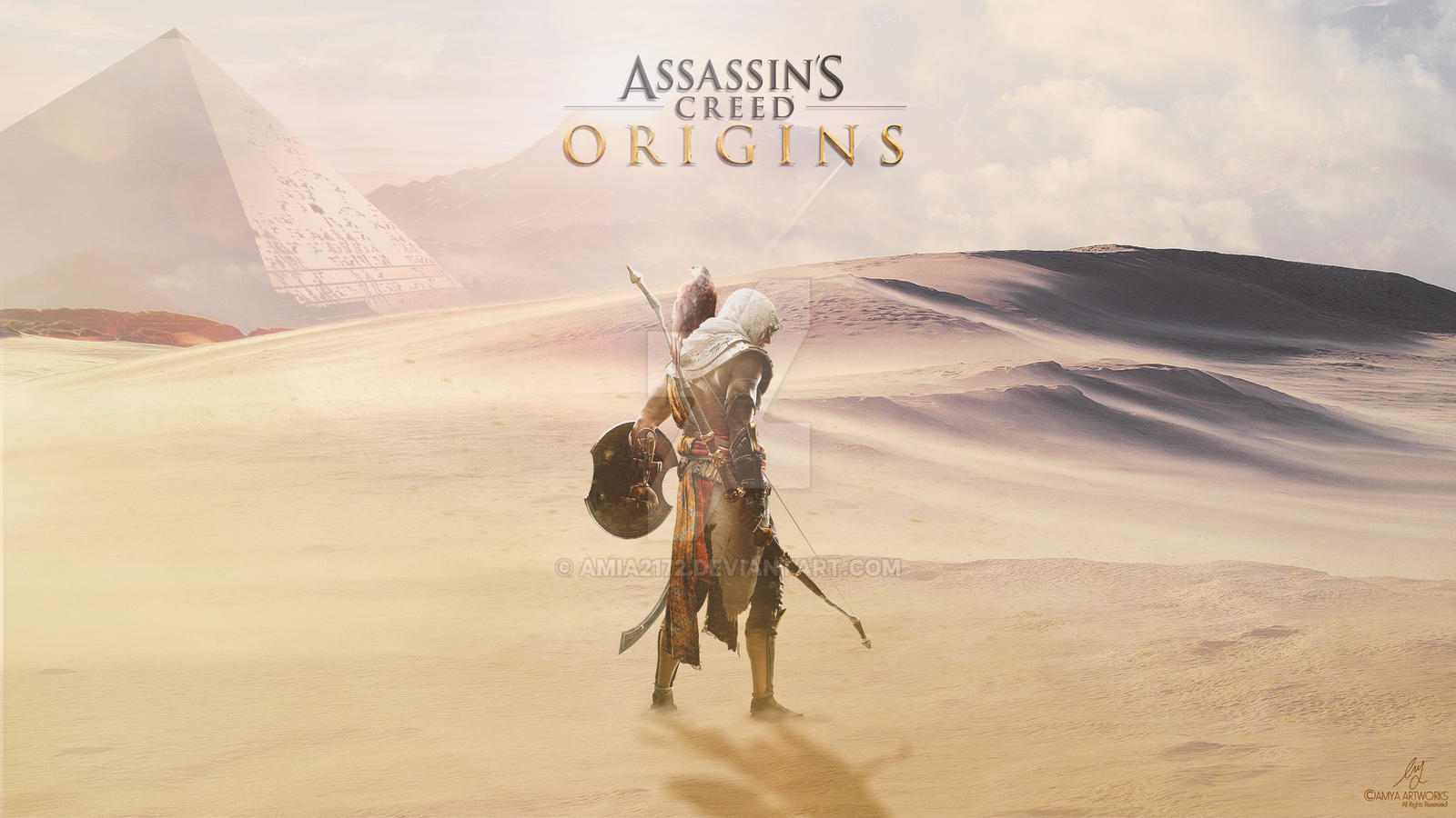 assassins creed origins wallpaper full hd
