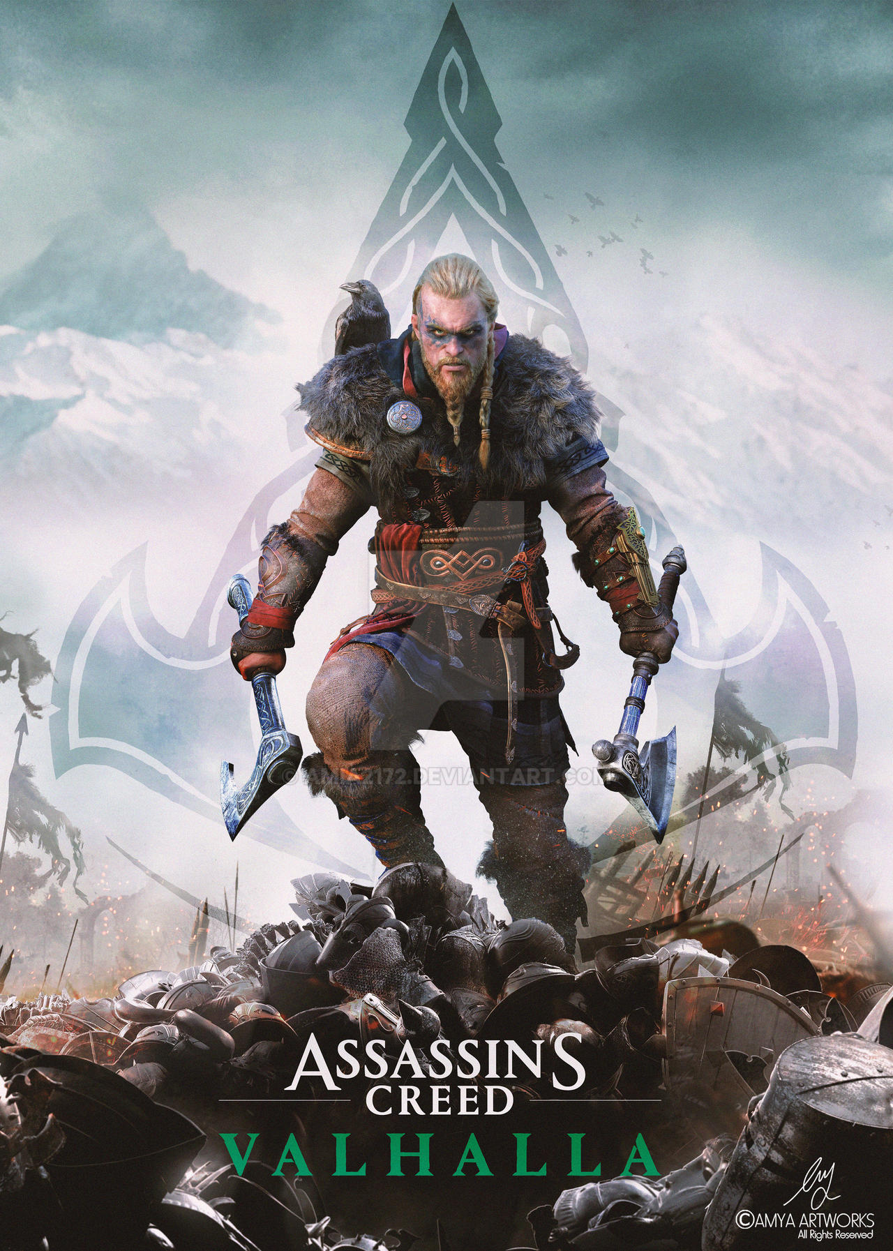Assassin S Creed Valhalla Poster By Amia2172 On Deviantart