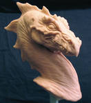 Pernese Dragon bust by Skull-Droid