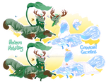 Royal Chimereon Adopt Set 2 - CLOSED by CandyChameleon