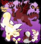 Shoulder Devil and Angel Chimereons - CLOSED
