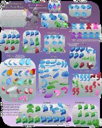 Omniopteryx - Queen Trait Sheet by CandyChameleon