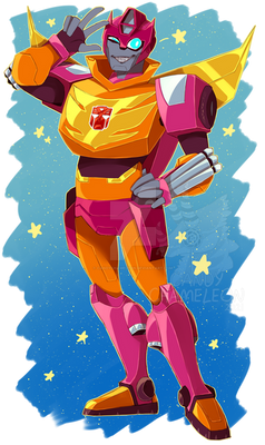 TFA Hot Rod/Rodimus
