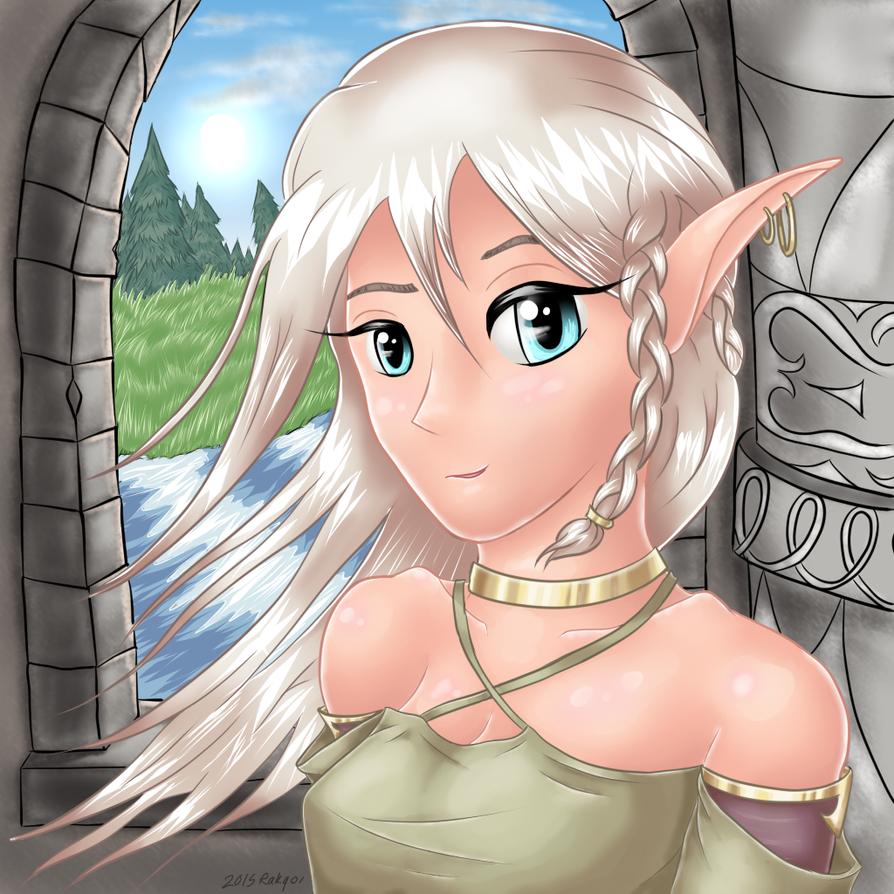 Elven Nobility by Rakqoi