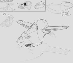 Spaceship Practice by JordanReaps