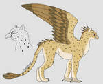 Lowland Griffin by fableworld