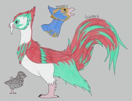 Trunk-beak Rooster
