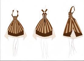 +Steampunk Lolita Design+ by DeadlyDie